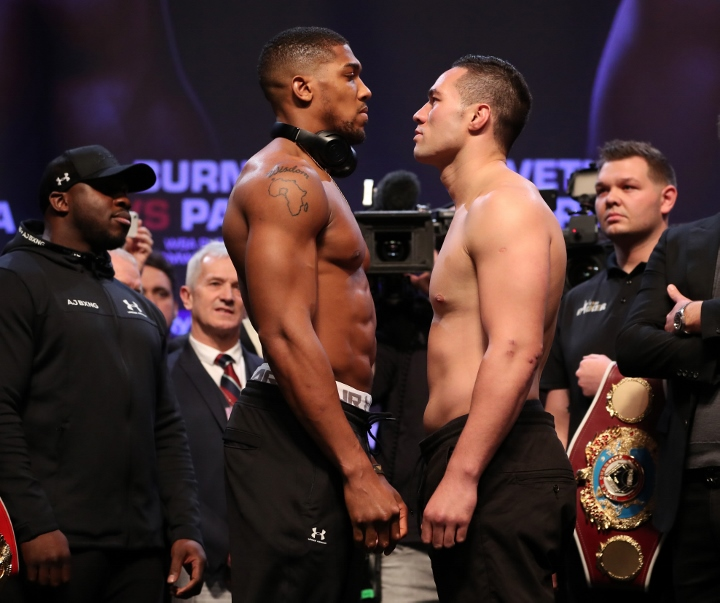 Anthony Joshua talks over Deontay Wilder fight to 'start next week'