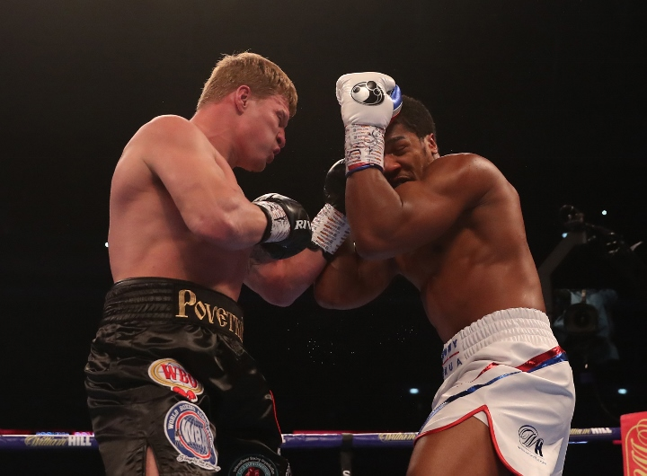 WBC Prez is Proud of Povetkin's Performance With Joshua
