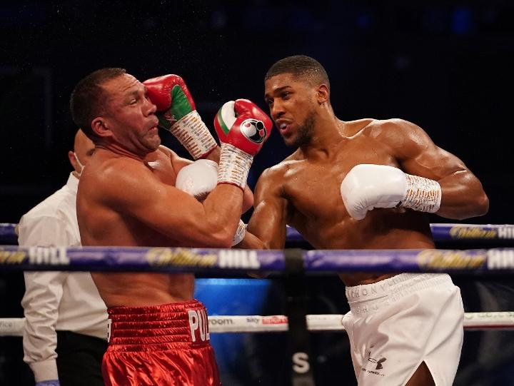 Photos: Anthony Joshua Blasts Out Kubrat Pulev - HUGE Gallery - Boxing News