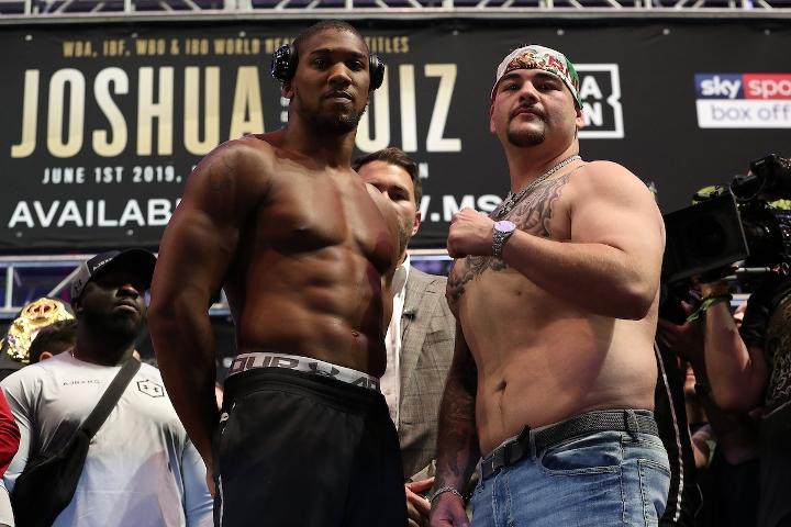2019年6月2日重量级拳王卫冕战 约书亚vs小鲁伊兹 [视频] JOSHUA vs. RUIZ
