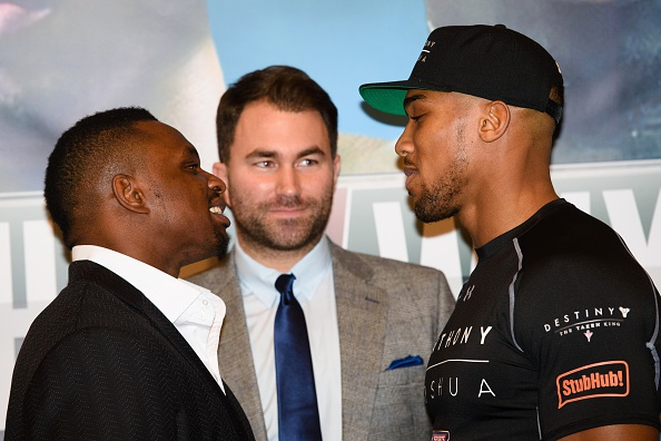 Anthony Joshua close to confirming fight in U.S. against Jarrell Miller