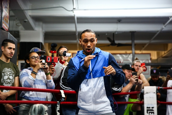 Keith Thurman Vs Josesito Lopez  Open Workout Photos
