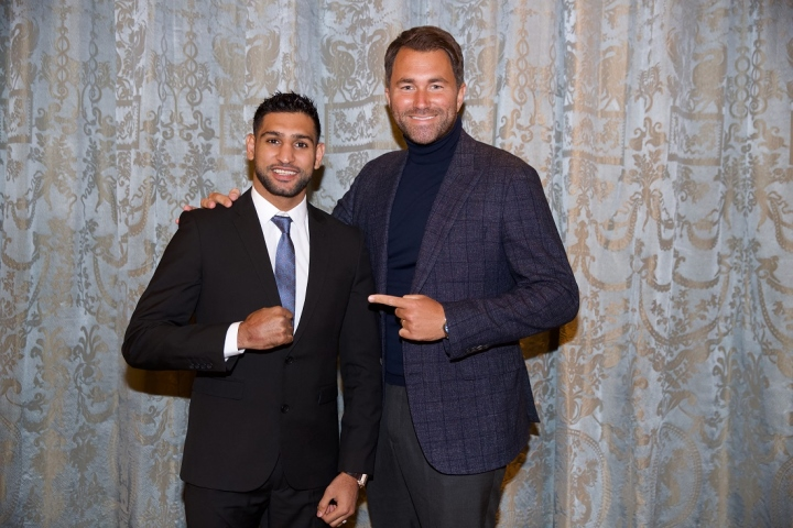 Kell Brook tells Amir Khan how to make their fight happen