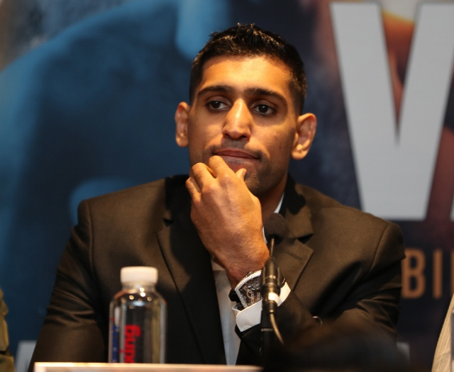 Amir Khan: Bring on Manny Pacquiao, That's Who I Want