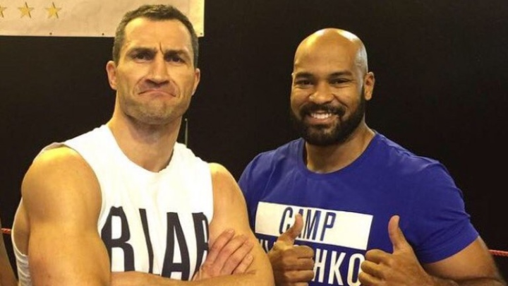 Klitschko compares himself to Mount Everest