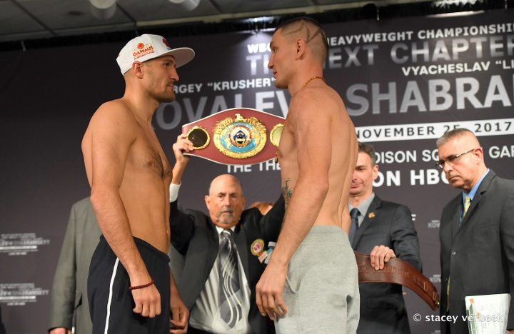 Kovalev dominates Shabranskyy to win WBO light heavyweight belt