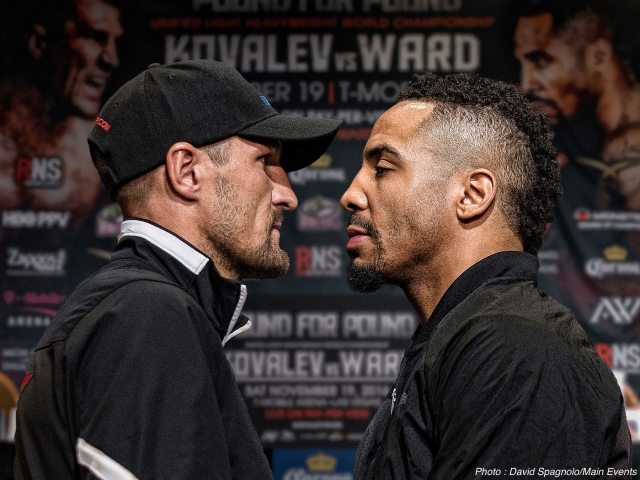 Judges Shock Kovalev: Ward New Champ