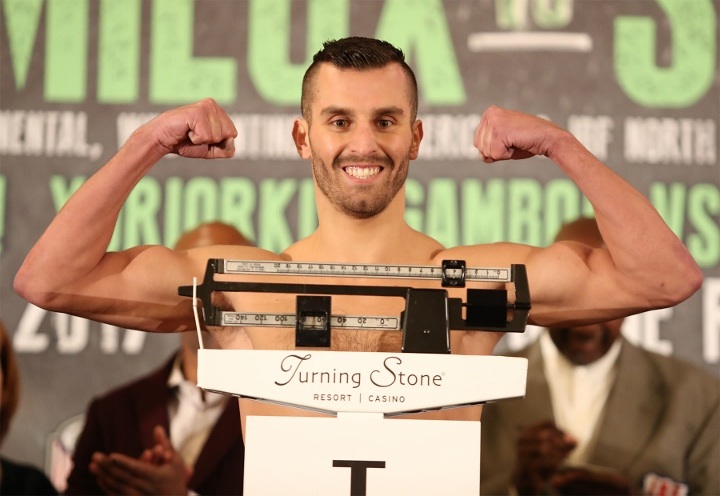 Lemieux misses second day ibf weigh in for stevens fight for Domon boxing day