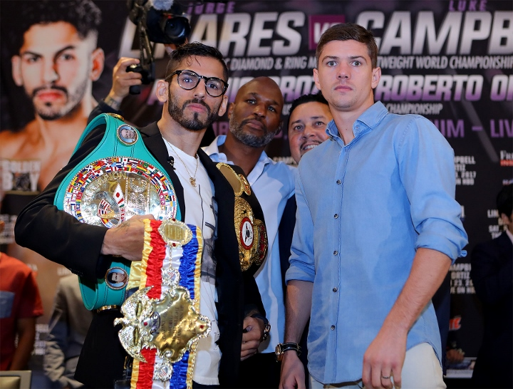Linares believes experience will see him through