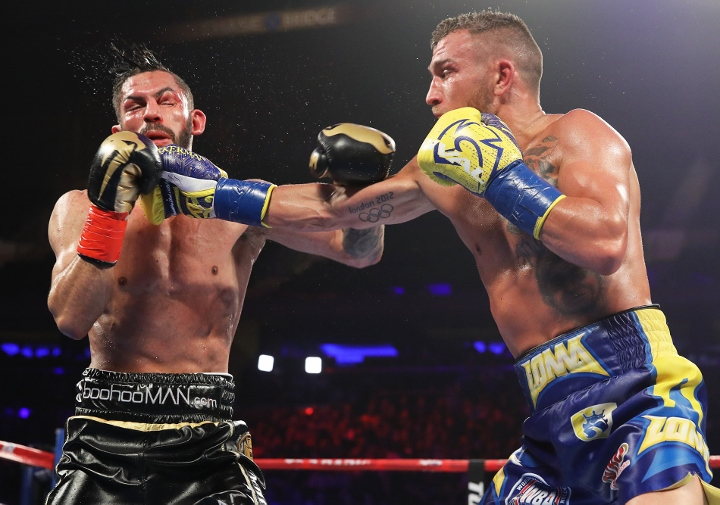 Vasyl Lomachenko makes history with TKO win over Jorge Linares
