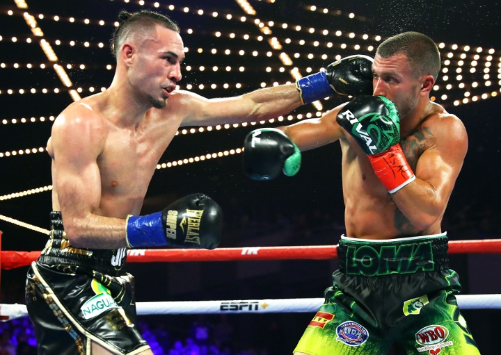 Jose Pedraza Somehow Gets Through 42-Punches From Vasiliy Lomachenko