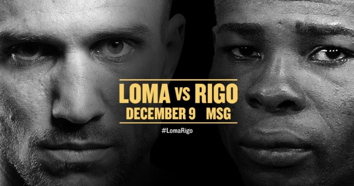 Vasyl Lomachenko vs. Guillermo Rigondeaux Set For December 9