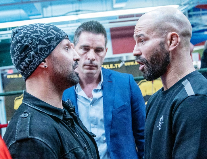 Malignaggi Strikes Out At Lobov During Media Event For BKFC