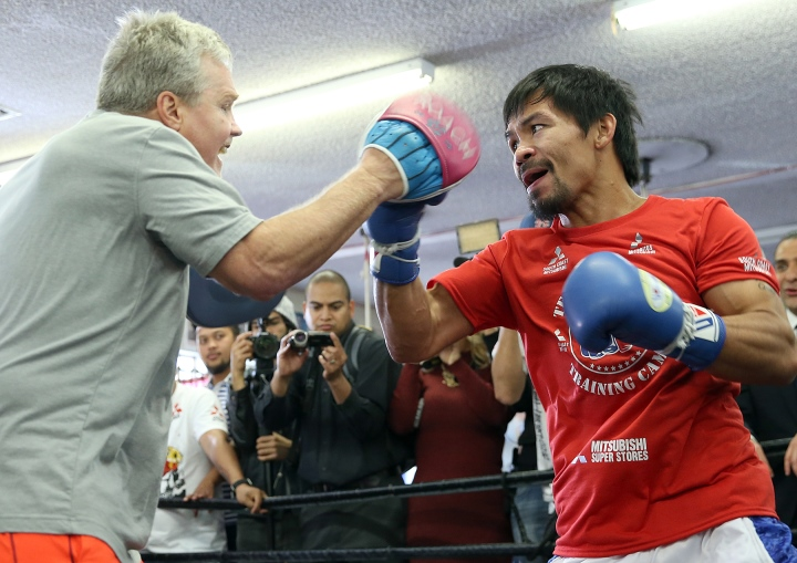 Roach Not Training Pacquiao For July