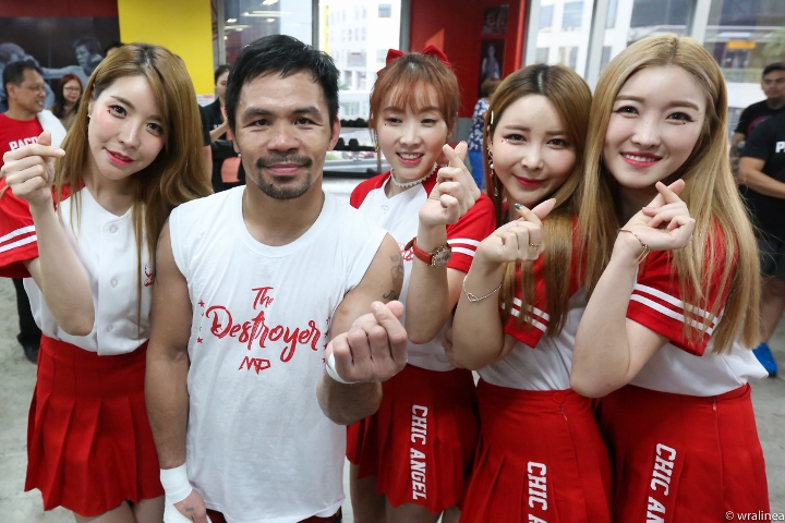 Pacquiao returns to Manila after his last bout