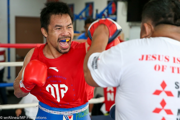 Manny Pacquiao vs. Keith Thurman Official, July 20 on PPV