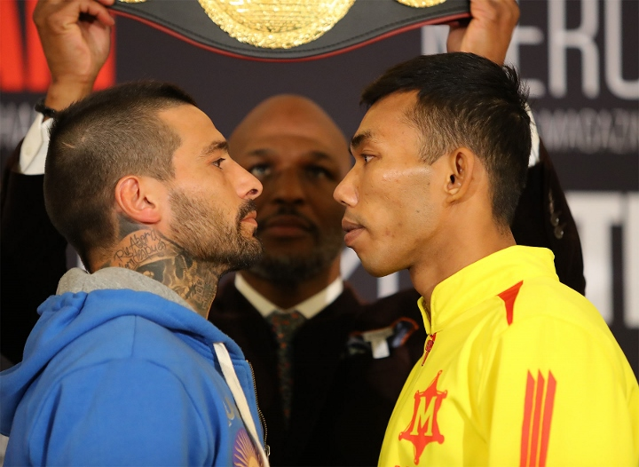 Matthysse-Kiram, Linares-Gesta - Weights For HBO Doubleheader