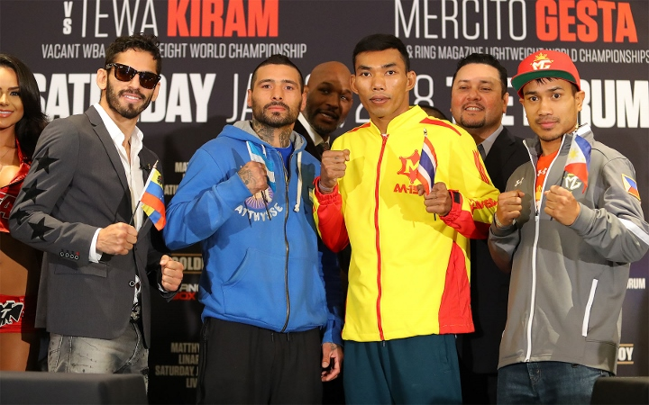 Matthysse, Linares Post-Fight Presser Quotes
