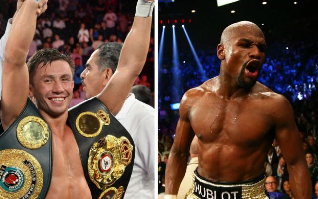 Move up weight to prove your worth – Mayweather tells Golovkin