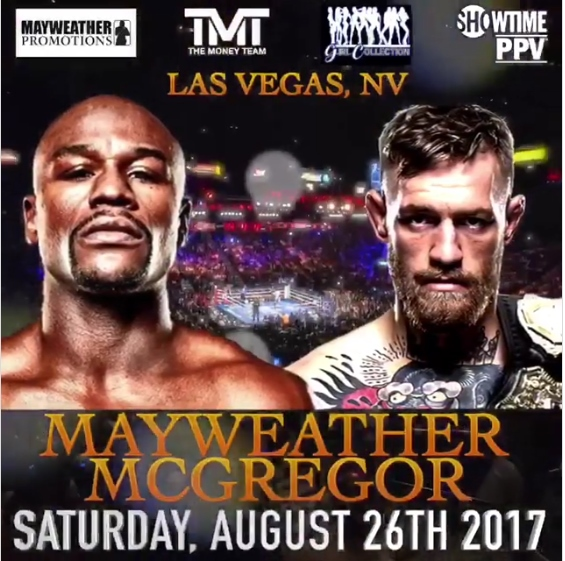 Image result for mayweather vs mcgregor date