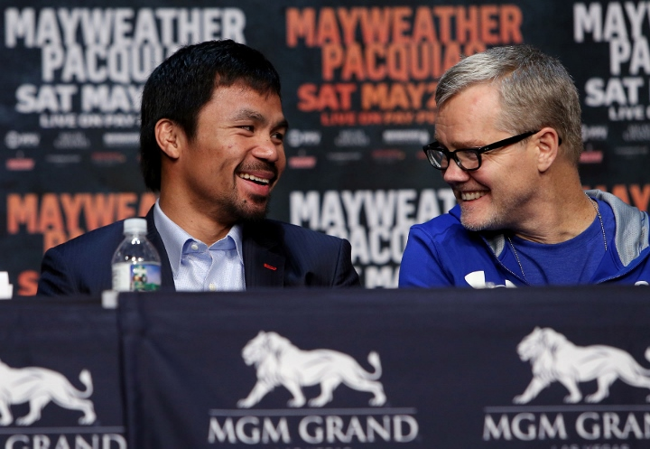 Pacquiao wants Lomachenko, weight issue the sticking point