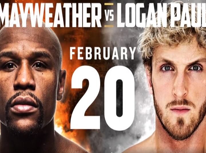 Floyd Mayweather Vs Logan Paul Exhibition Set For February 20 Boxing News