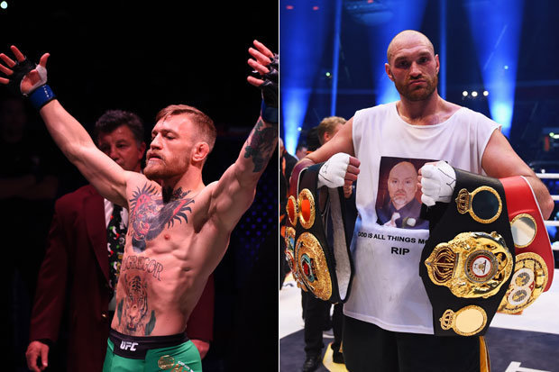 Tyson Fury Mcgregor Drills Mayweather It Ll Be Good For
