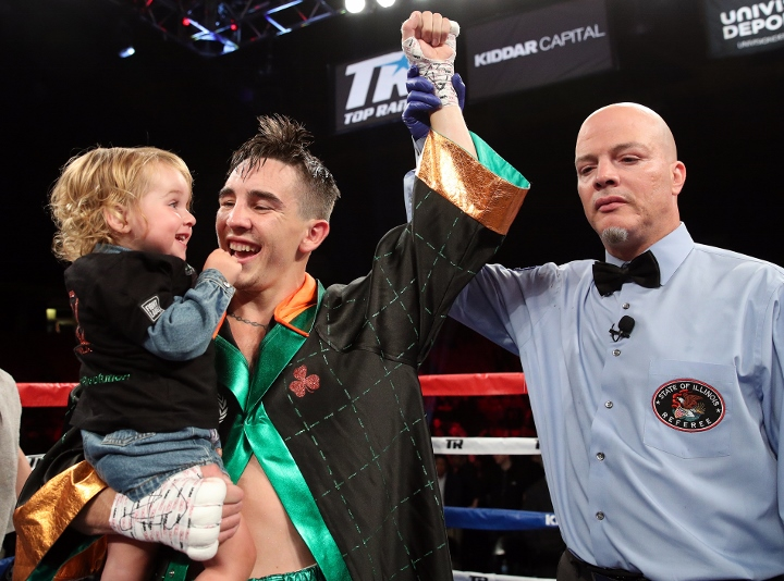 Michael Conlan secures sixth pro win and eyes Belfast bout