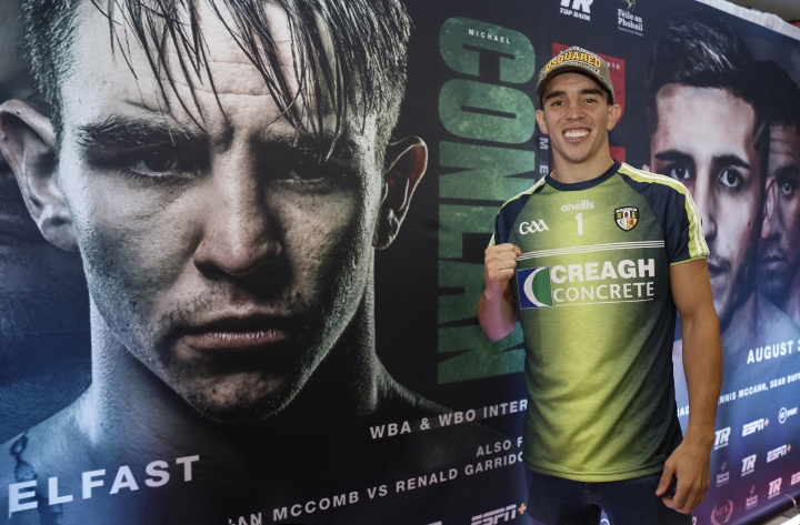 Michael Conlan relishing his toughest test and homecoming night