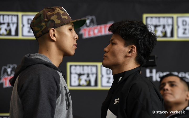 Jamie Munguia Vs Takeshi Inoue Press Conference