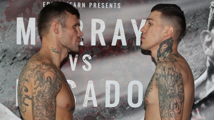 Pictures from Martin Murray's stormy clash against Gabriel Rosado