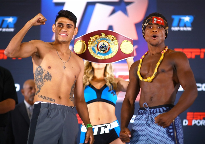 Miguel Berchelt vs Francisco Vargas and Dogboe vs Navarrete rematches on ESPN