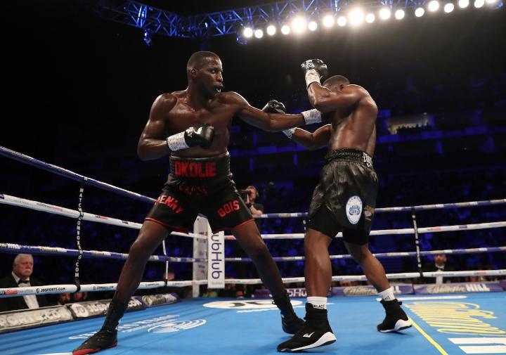 Photos: Lawrence Okolie Captures EBU Crown, Stops Ngabu - Boxing News