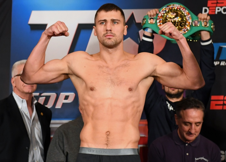 Gvozdyk retains titles after Ngumbu injury
