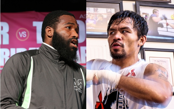 Pacquiao to end USA exile in January vs. Broner