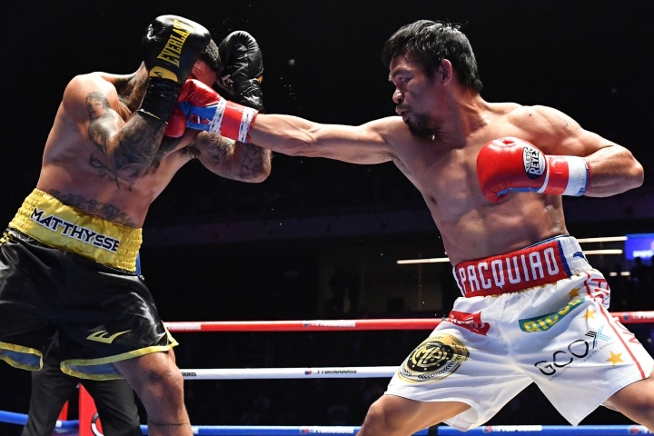 pacquiao like i said i m not gone from boxing i m still here