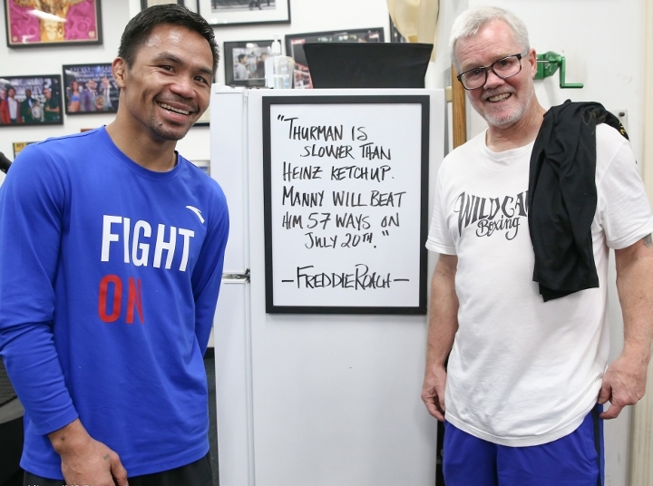 Mayweather, Pacquiao trade barbs on social media