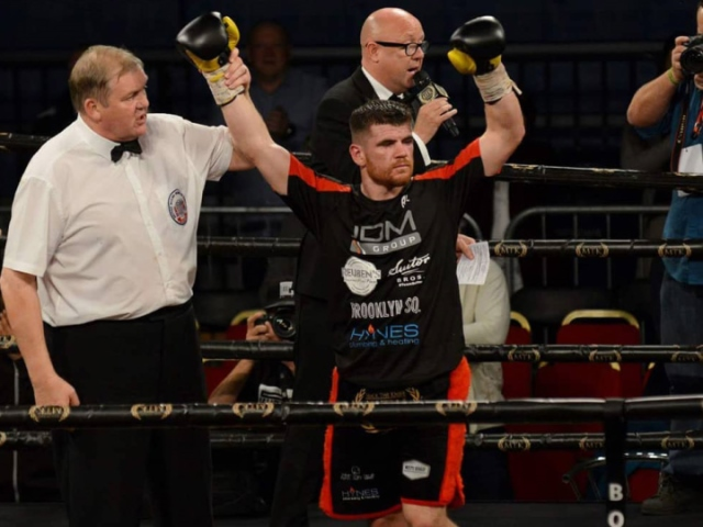 Paddy Gallagher Rocks, Stops Liam Wells In Belfast - Boxing News