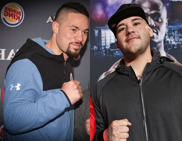 Image result for joseph parker and andy ruiz