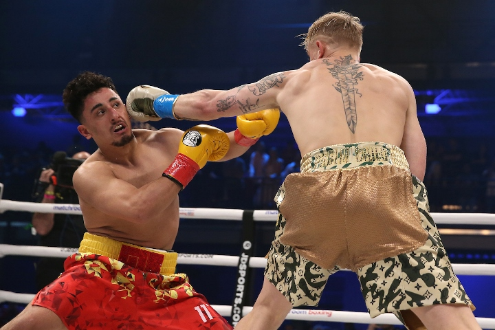 Photos: Jake Paul Destroys AnEsonGib in One Round - Boxing