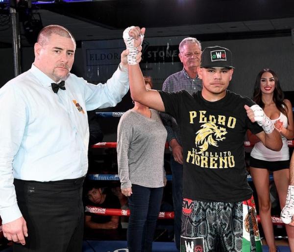 Image result for Pedro MOreno Thompson Boxing