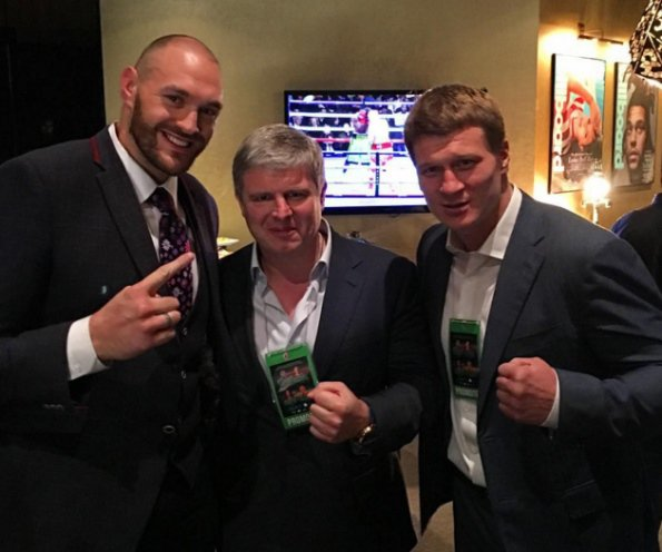 Tyson Fury: Povetkin Is A Midget, Deontay Wilder Will Chin