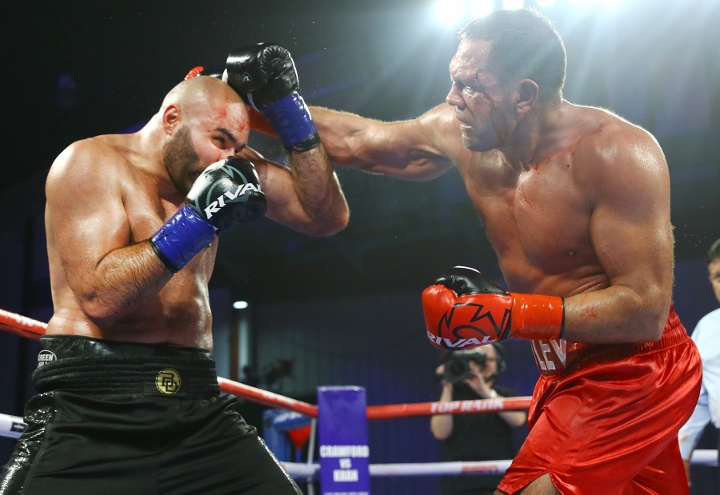 Kubrat Pulev has boxing licence suspended after kiss