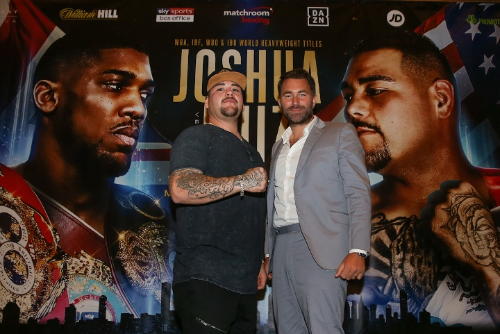 Anthony Joshua: Deontay Wilder 'Starving' Fans Of Title Fight
