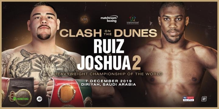 Joshua-Ruiz rematch set for Saudi Arabia