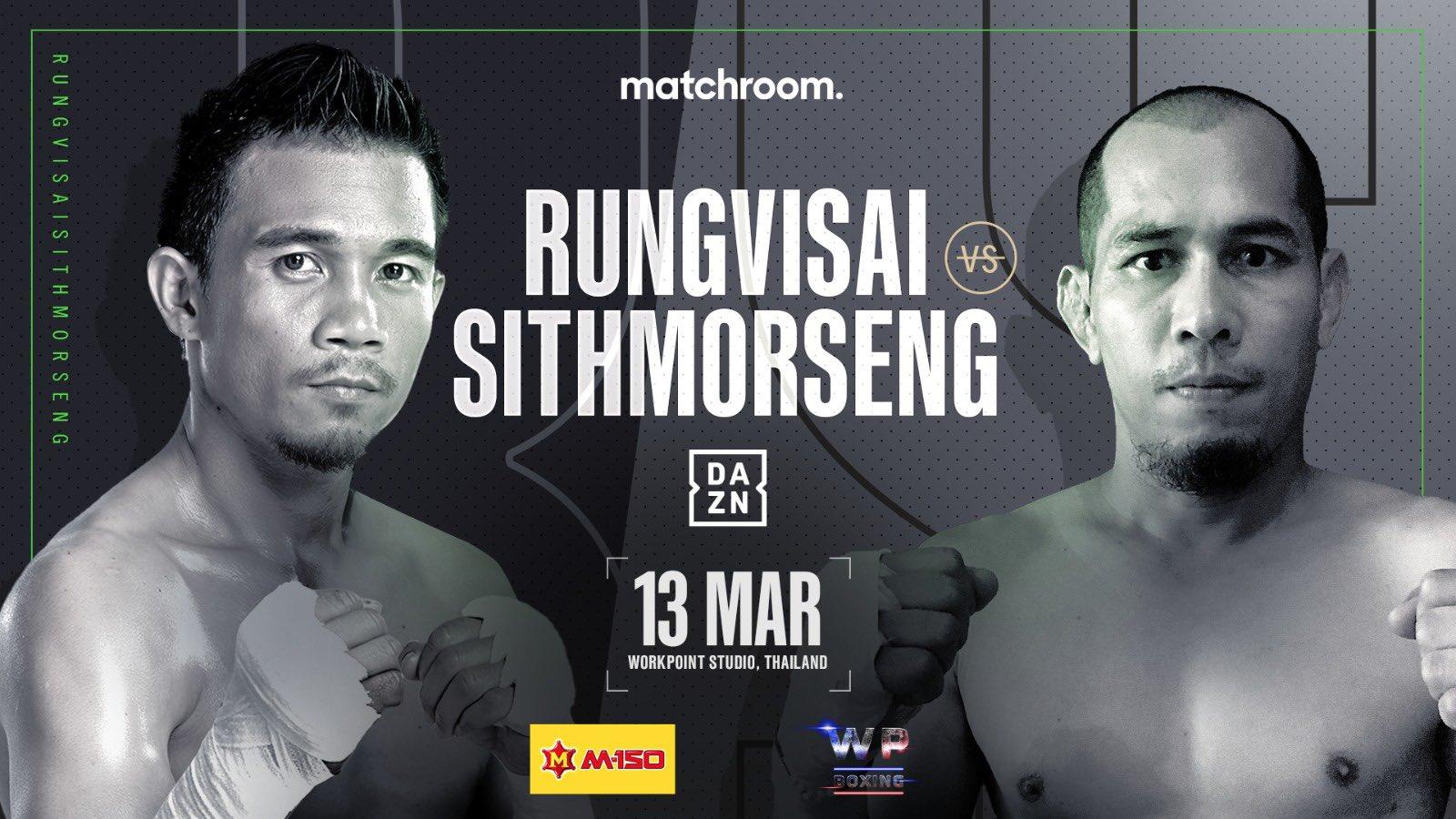 Sor Rungvisai-Sithmorseng Clash Set For March 13 In...
