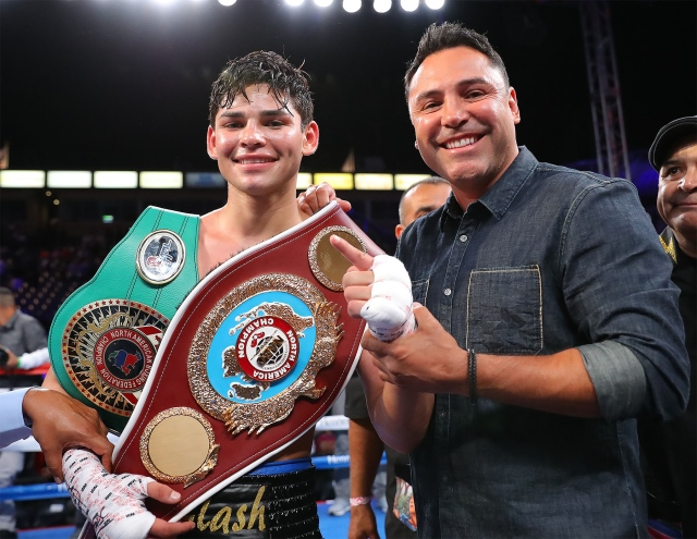 De La Hoya Sends Legal Letter To Mayweather Over Ryan Garcia