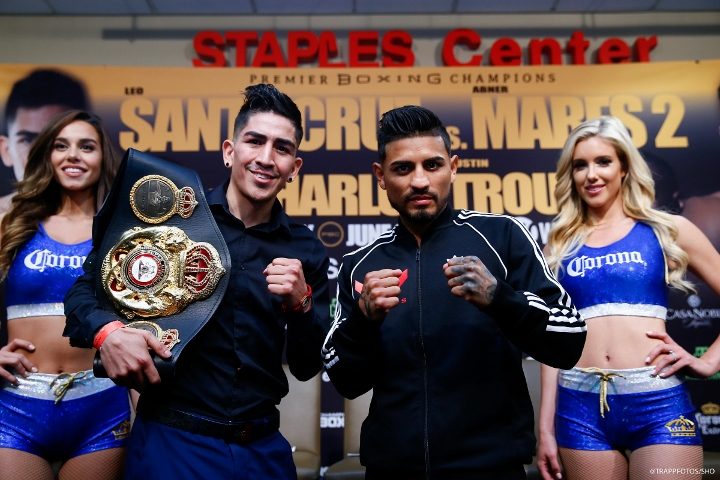 Santa Cruz beats Mares again for WBA feather belt
