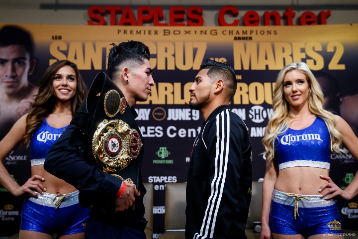Leo Santa Cruz beats Abner Mares to retain WBA featherweight title