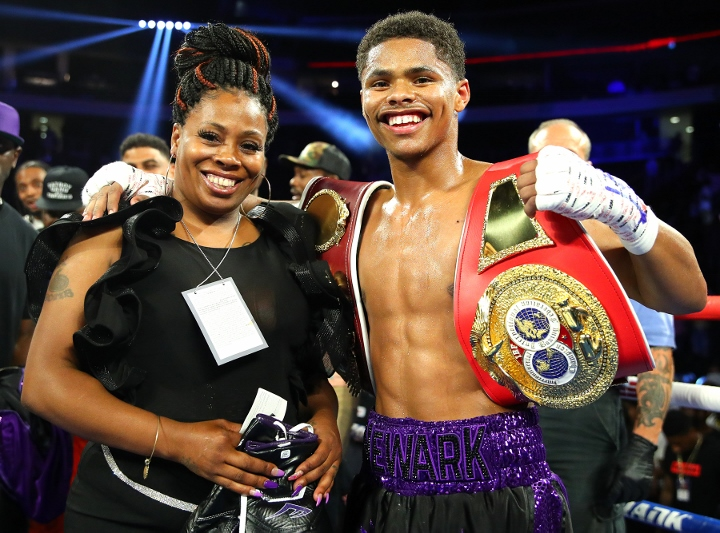 Shakur Stevenson To Warrington: We're Both Champs - Let's Fight ...